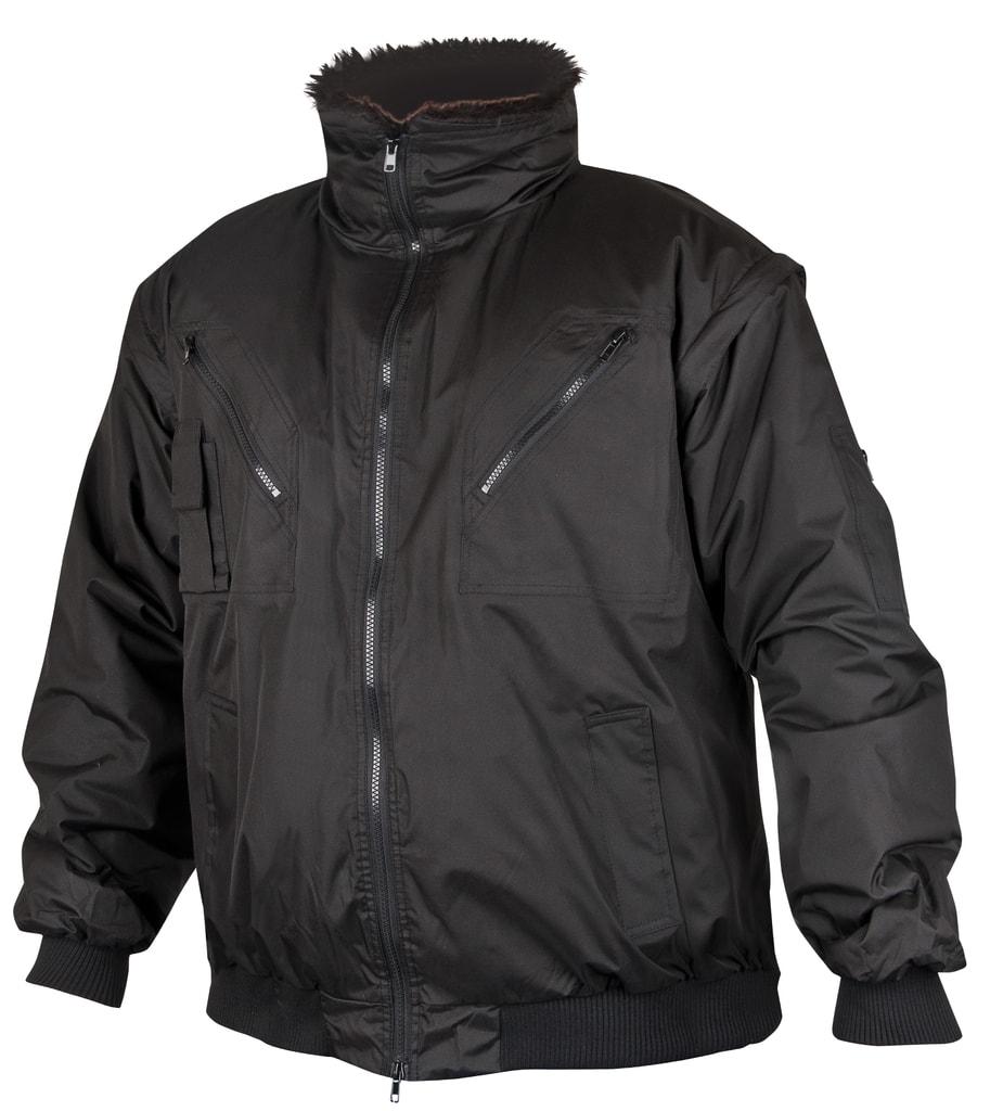 Zimní pracovní bunda Howard - Černá | XL
