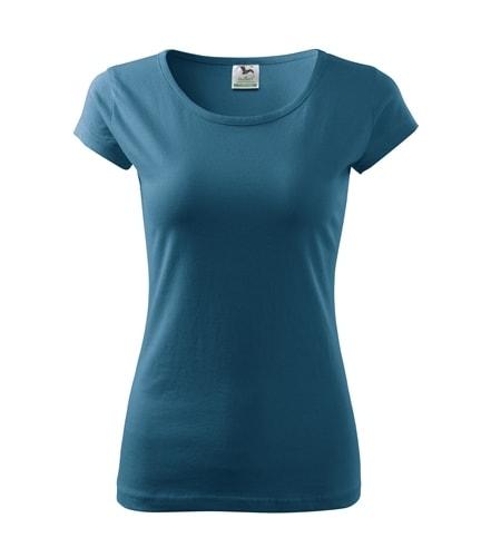 Dámské tričko Pure - Petrolejová | XS