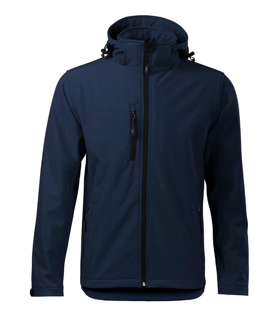 Pánská softshellová bunda Performance - Námořní modrá | XXXL