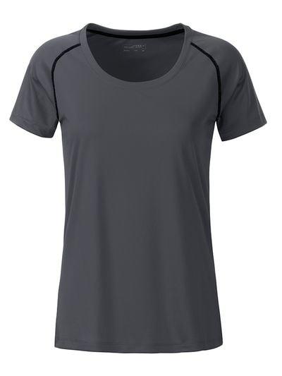 Dámské funkční tričko JN495 - Titanově černá | XL