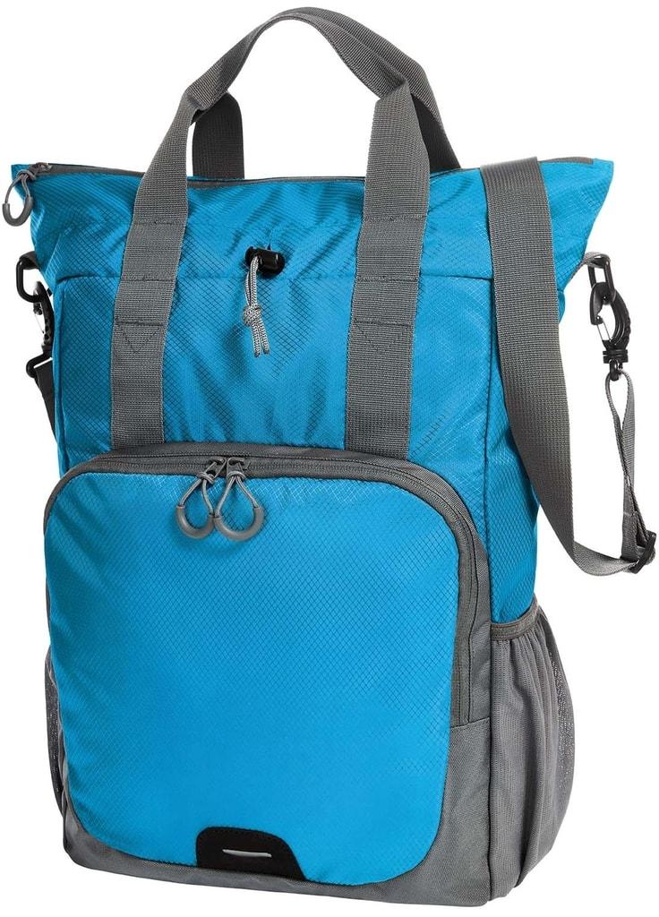 df9498e4dbd Víceúčelový batoh a taška 2v1 (Tyrkysová)
