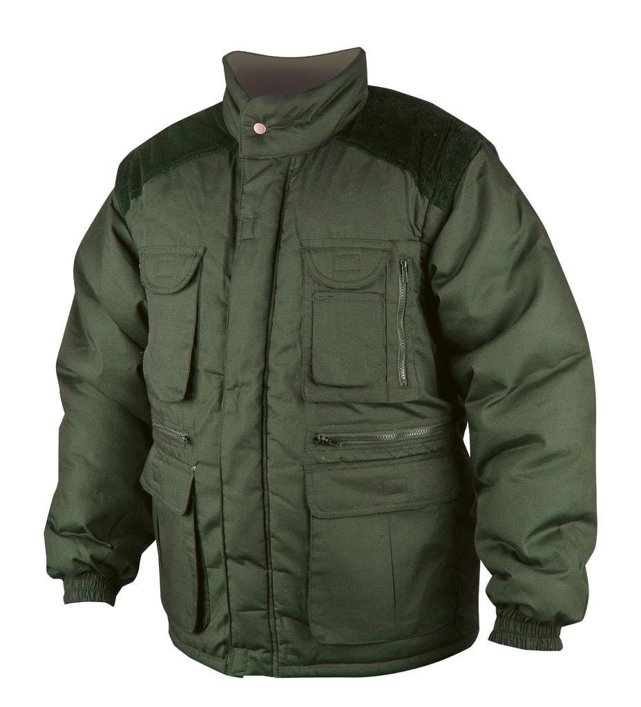 Zimní pracovní bunda Danny - Zelená | XL