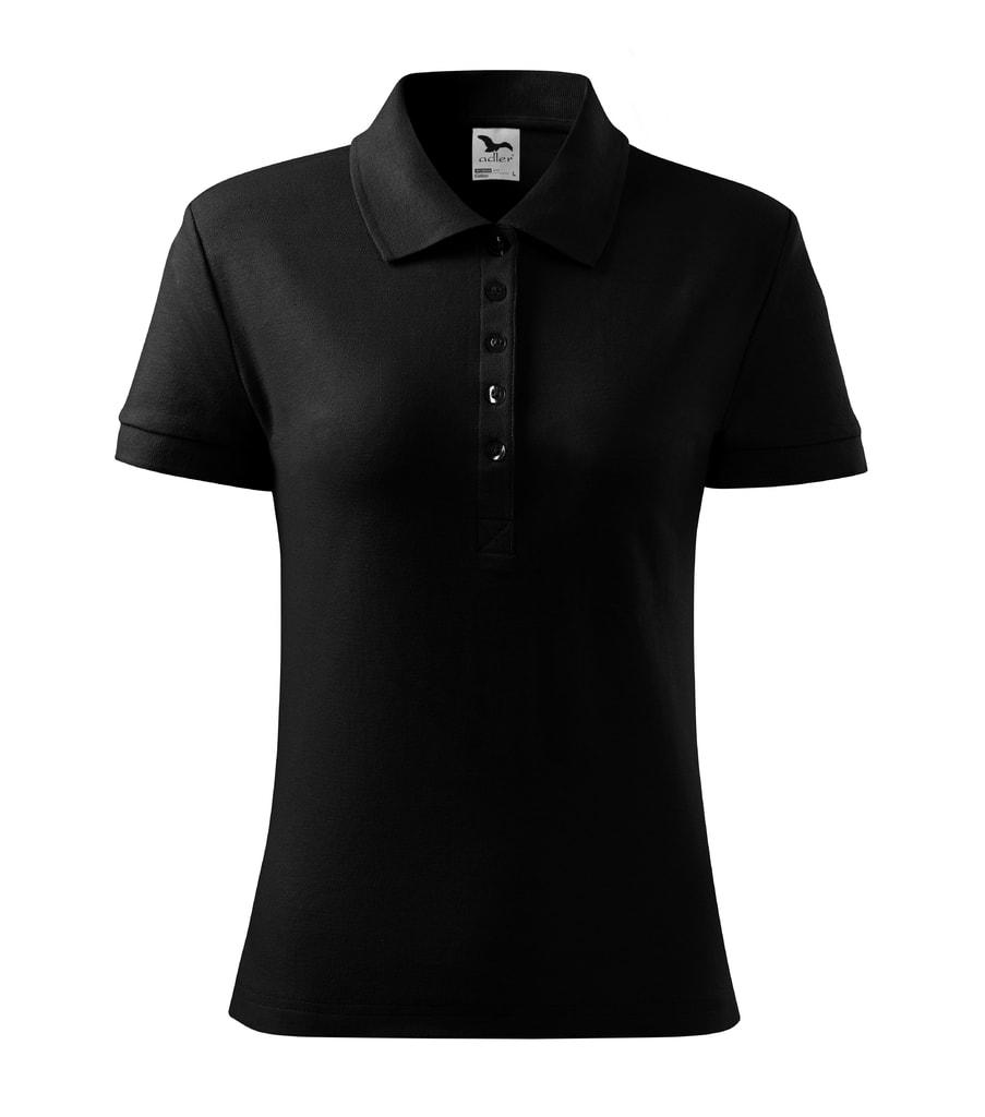 Dámská polokošile Cotton - Černá   XL