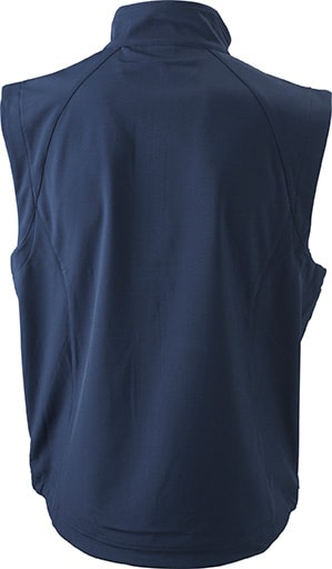 Pánská softshellová vesta JN1022 - Tmavě modrá | XXXL