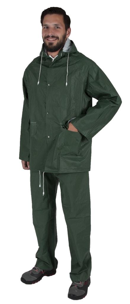 Ardon Nepremokavý dvojdielny oblek Hugo - Zelená | L