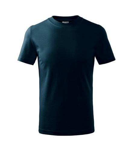 Dětské tričko Basic Adler - Námořní modrá | 134 (8 let)