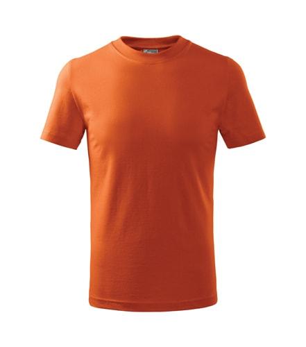 Dětské tričko Basic Adler - Oranžová | 158 (12 let)