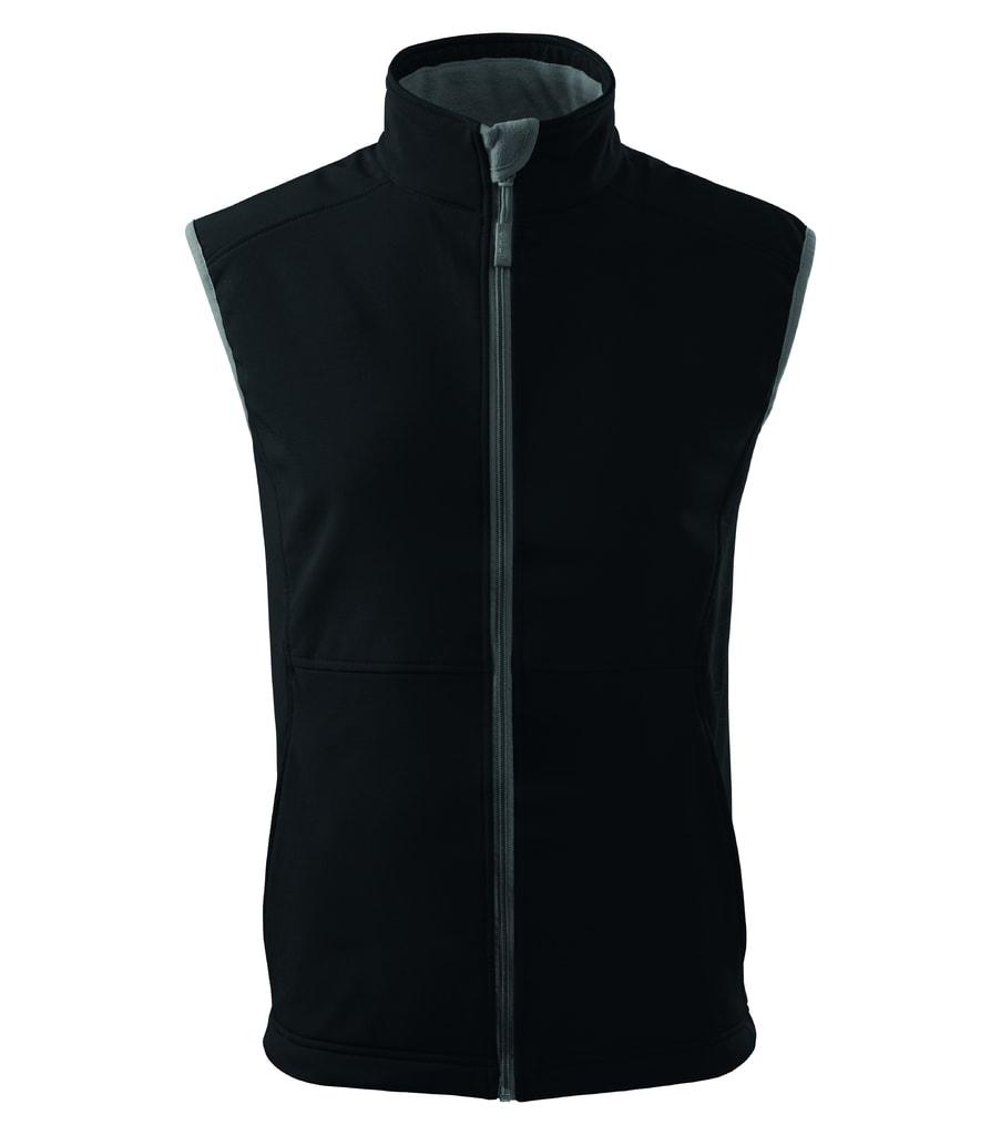 Pánská softshellová vesta Vision - Černá | XL
