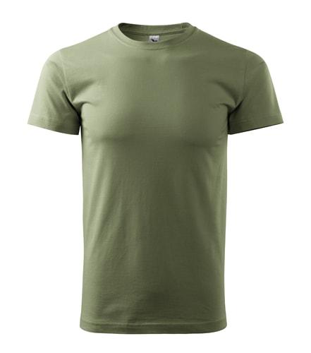 Pánské tričko Basic Adler - Khaki | XXL
