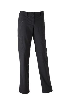 Dámské outdoorové kalhoty 2v1 JN582 - Černá | XXL