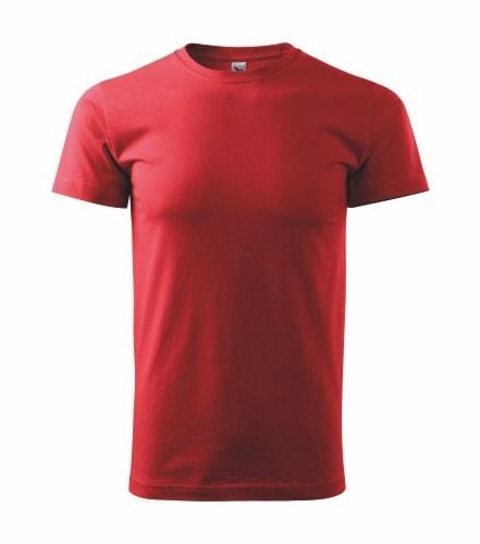 Pánské tričko HEAVY - Červená | XXXXL