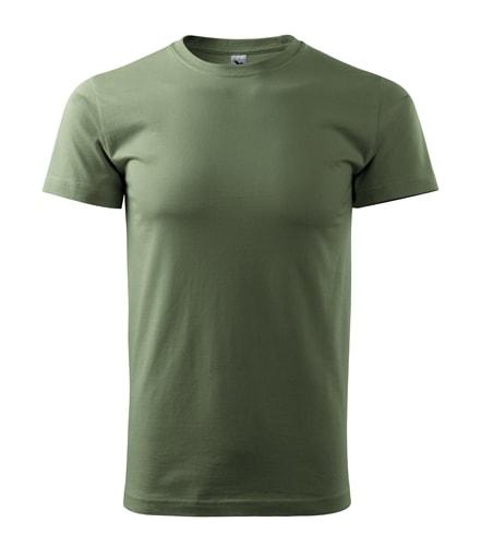 Pánské tričko HEAVY - Khaki | XXXL