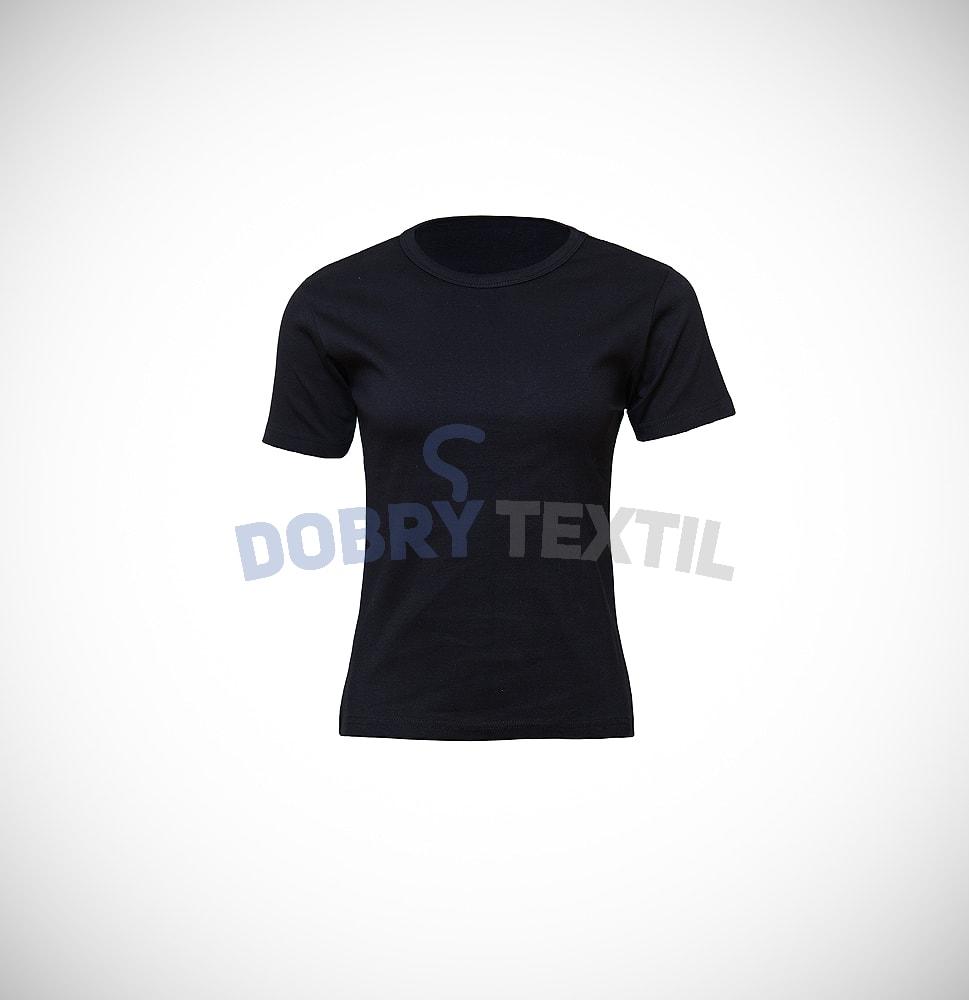 Dámské tričko ELAST - Černá | XXL
