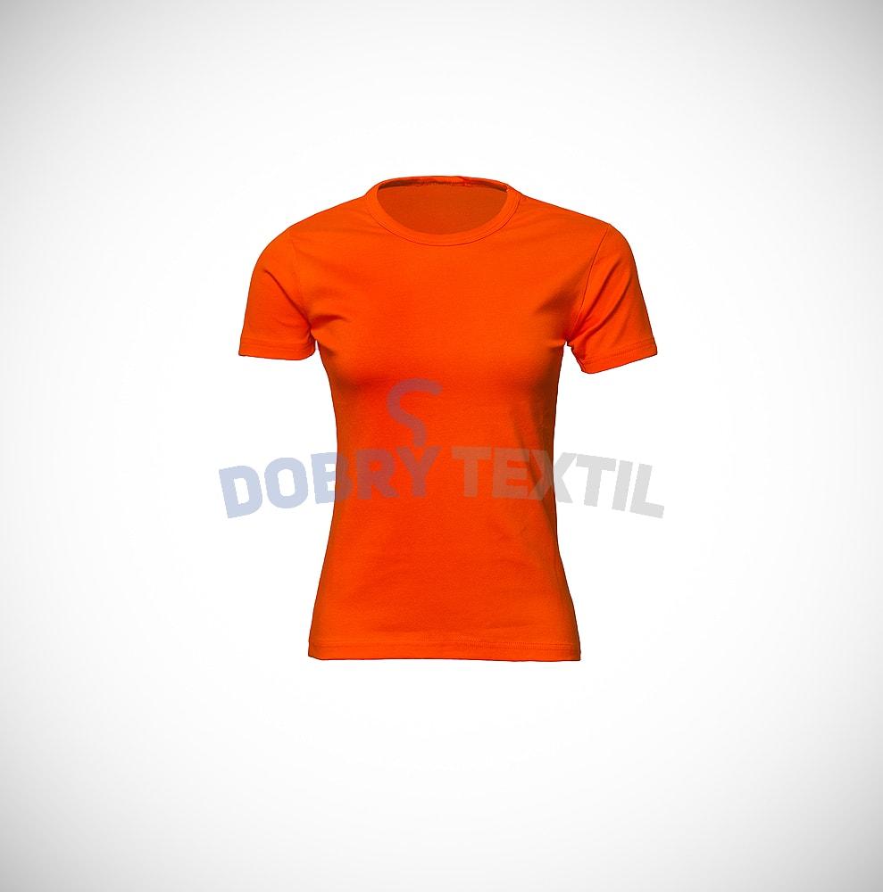 Dámské tričko ELAST - Oranžová | S