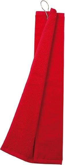 Myrtle Beach Golfový uterák MB432 - Červená