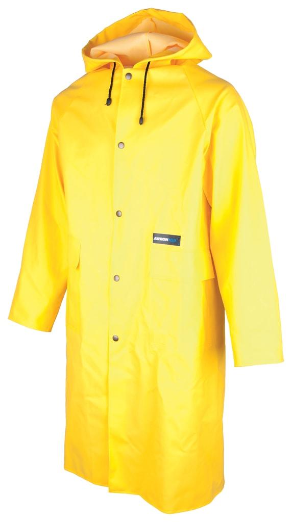 Nepromokavý plášť s kapucí Ardon Aqua - Žlutá | XXL