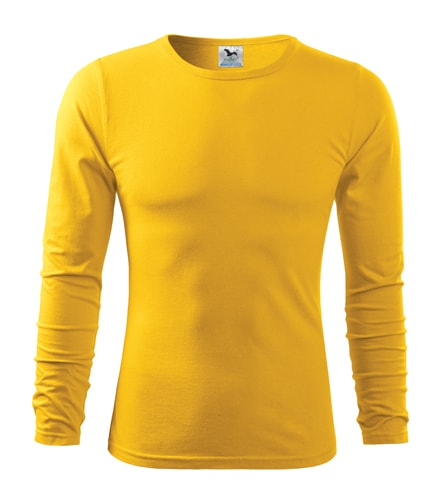 Pánské tričko s dlouhým rukávem Fit-T Long Sleeve - Žlutá | XXL