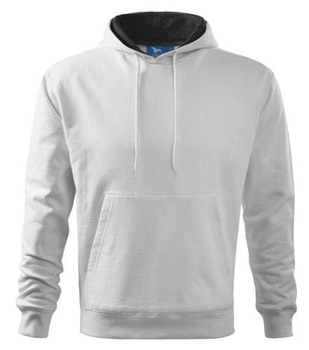 Mikina Hooded Sweater - Bílá | XL