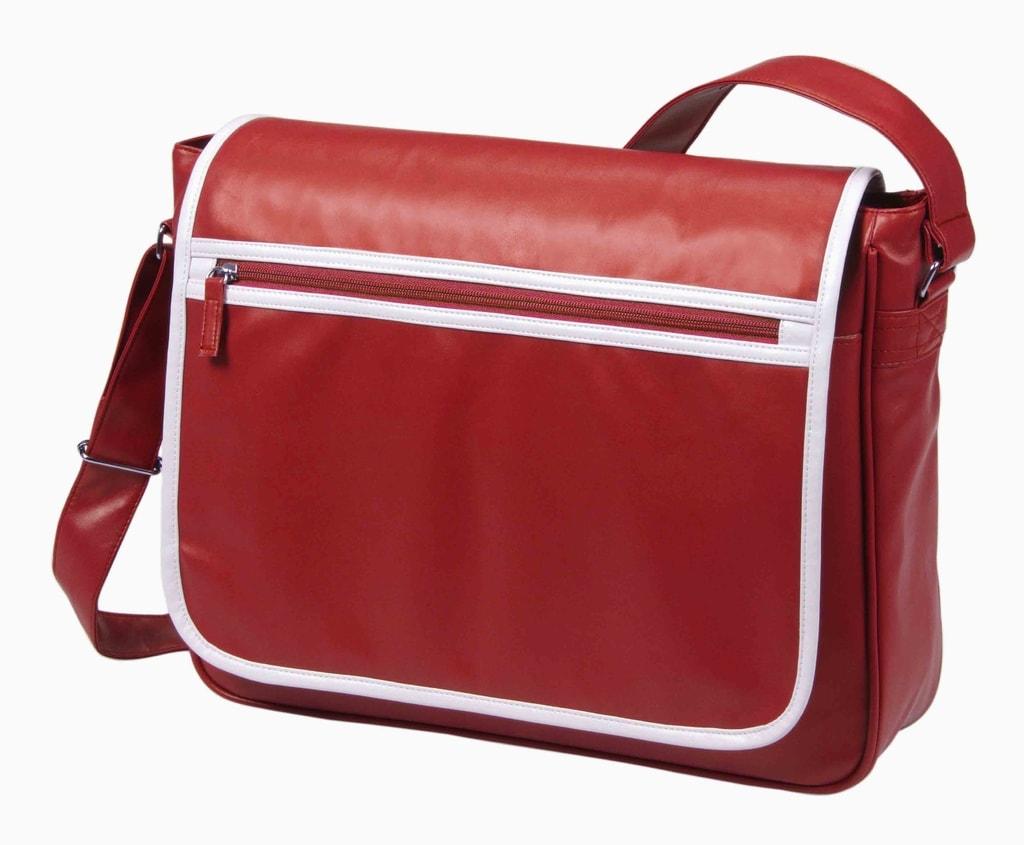 Kurýrní taška přes rameno RETRO - Červená