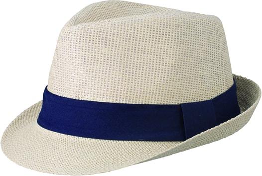 Letní klobouk MB6564 - Přírodní   tmavě modrá  dd2300c5a2