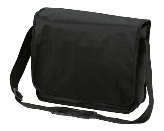 Taška přes rameno KURIER - Černá
