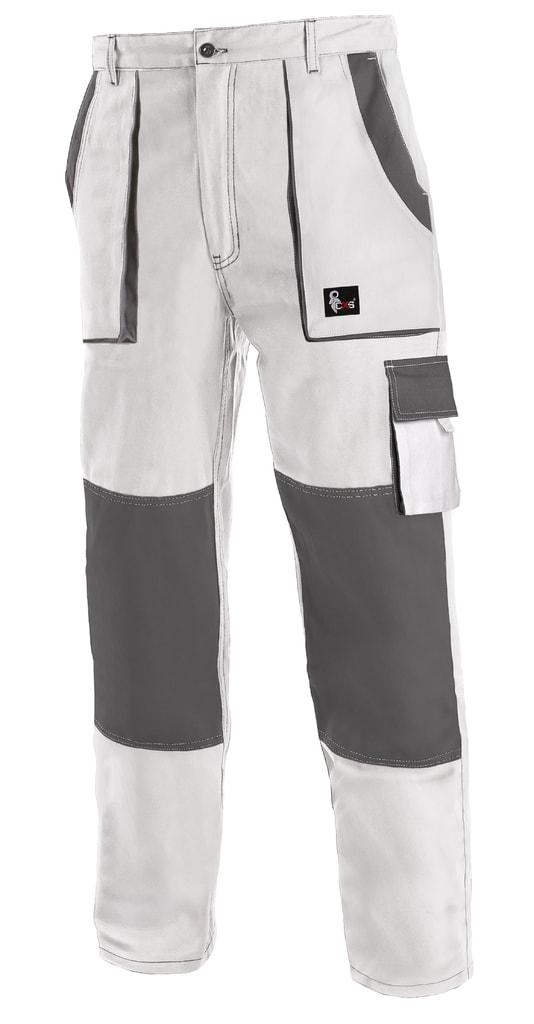 Pracovní kalhoty CXS LUXY JOSEF - Bílá / šedá   52