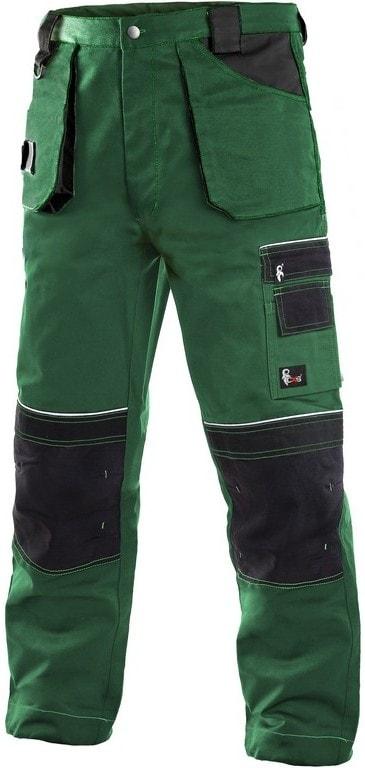 Montérkové kalhoty ORION TEODOR - Zelená / černá | 58