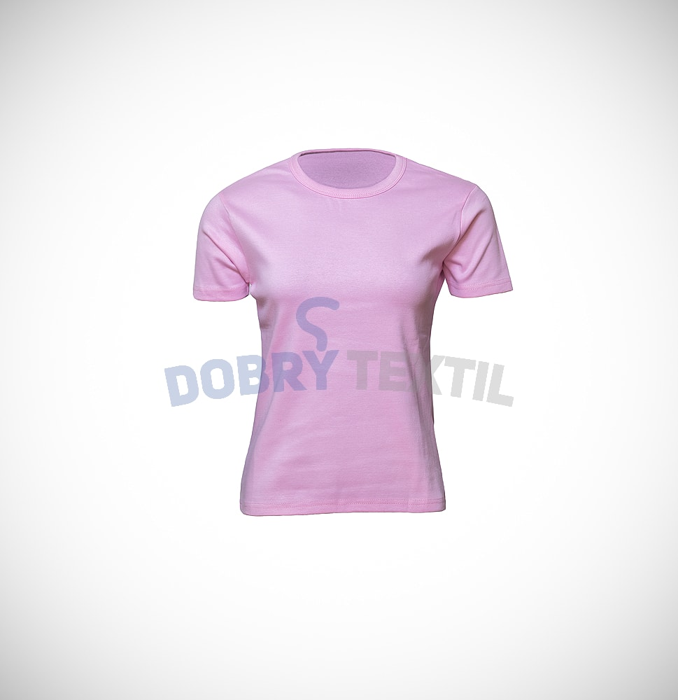 Dámské tričko ELAST - Růžová | XL