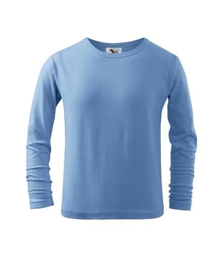Dětské tričko s dlouhým rukávem Long Sleeve - Nebesky modrá | 122 (6 let)