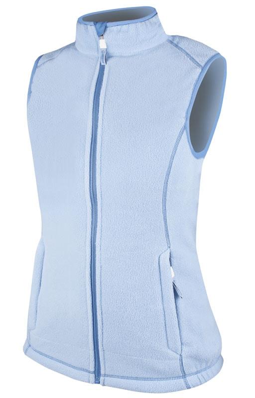 Dámská fleecová vesta Janette - Modrá | XL