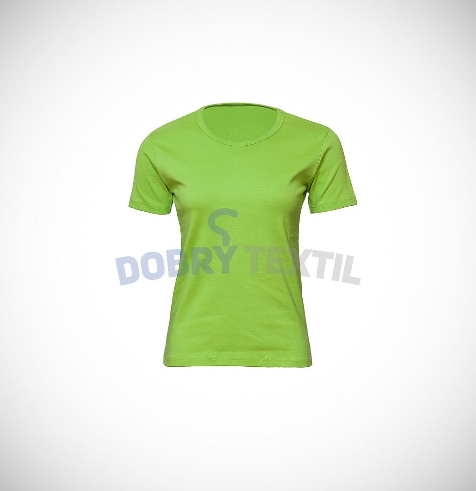 Dámské tričko ELAST - Zelená kiwi | XXL