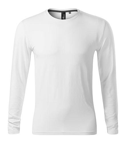 Pánské tričko s dlouhým rukávem Brave - Bílá   XXXL