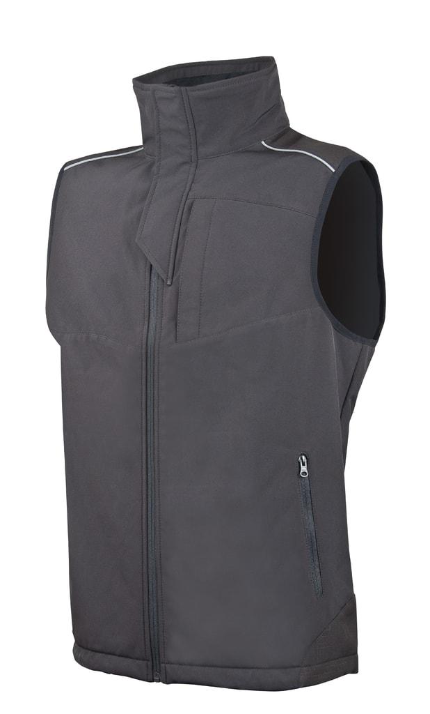 Pánská softshellová vesta Spirit - XXXL