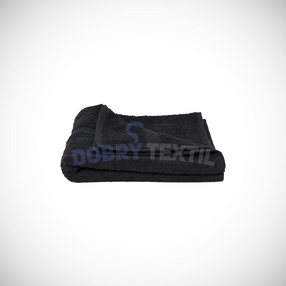 Reklamní ručník 50x100 - Černá | 50 x 100 cm