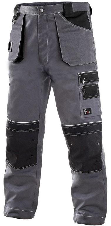 Zimní pracovní kalhoty do pasu ORION TEODOR prodloužené - 52-54