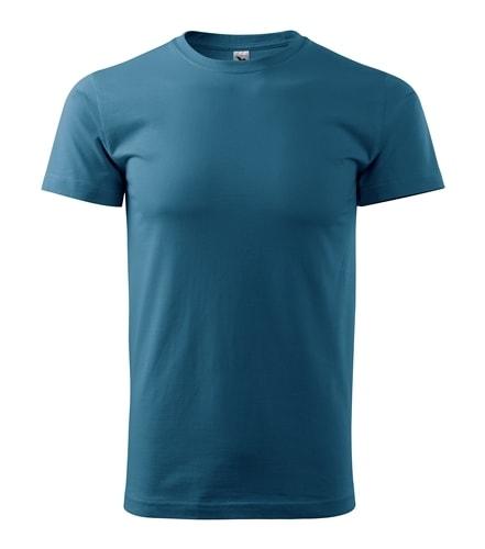 Pánské tričko HEAVY - Petrolejová | S