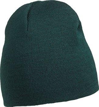 Pletená čepice MB7580 - Tmavě zelená | uni