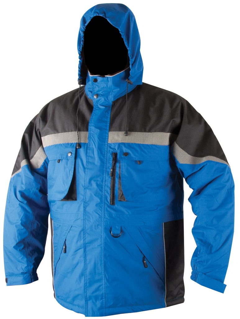 Zimní pracovní bunda Milton - Modrá | XXXL