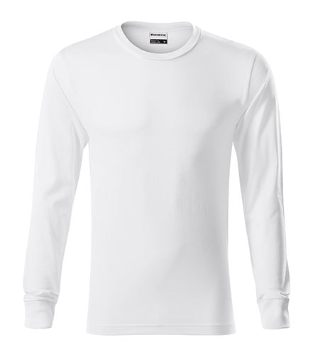 Tričko s dlouhým rukávem Resist LS - Bílá   S
