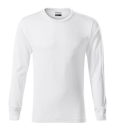 Tričko s dlouhým rukávem Resist LS - Bílá   M