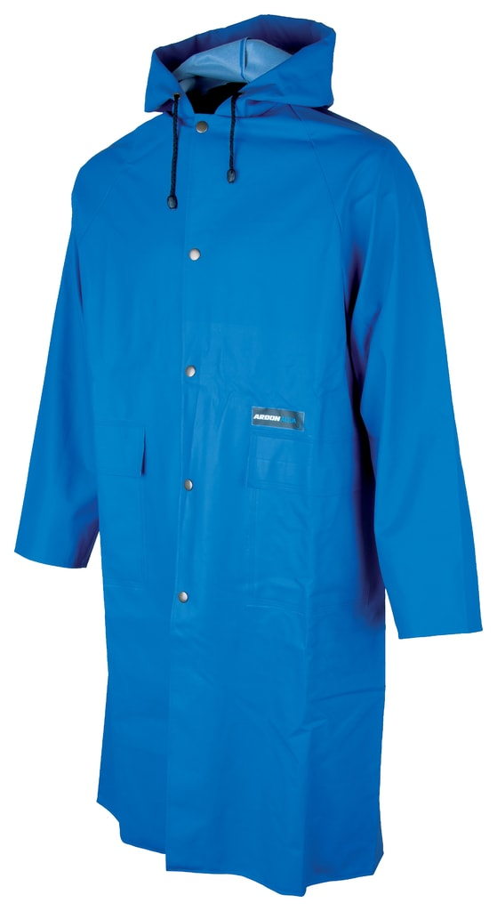Nepromokavý plášť s kapucí Ardon Aqua - Modrá | XXL