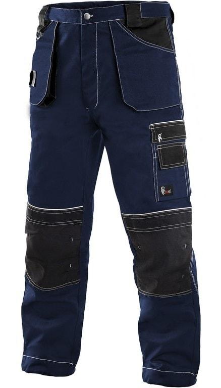 Montérkové kalhoty ORION TEODOR - Tmavě modrá / černá | 56