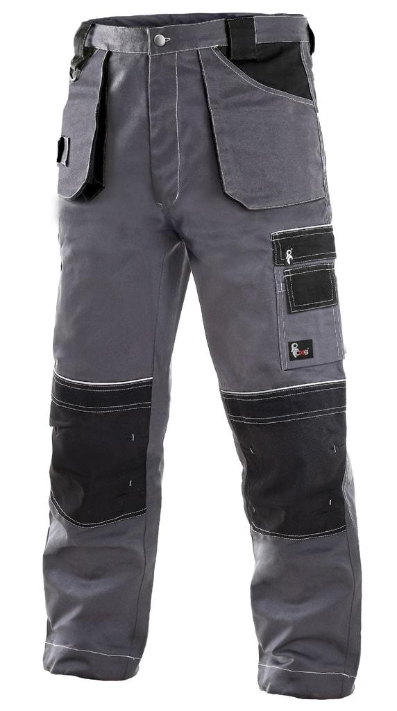 Montérkové kalhoty ORION TEODOR - Šedá / černá | 52