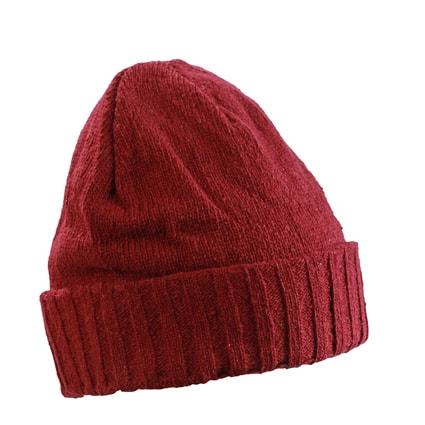 Zimní čepice MB7979 - Tmavě červená | uni