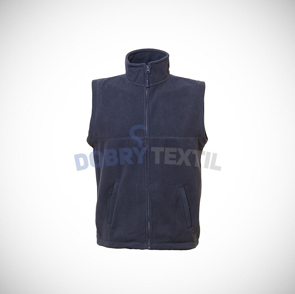 Fleecová vesta - Tmavě modrá | XXL