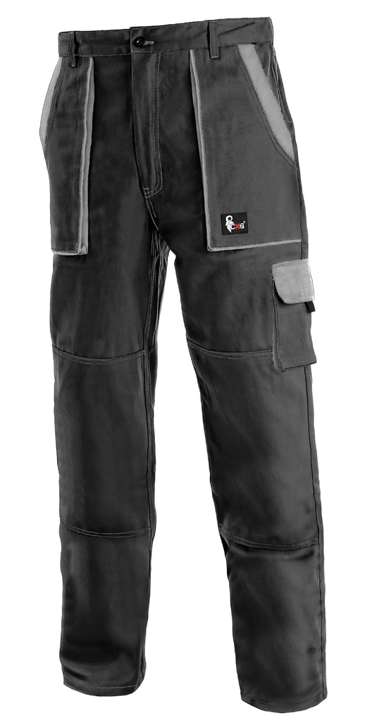 Pracovní kalhoty CXS LUXY JOSEF - Černá / šedá   52