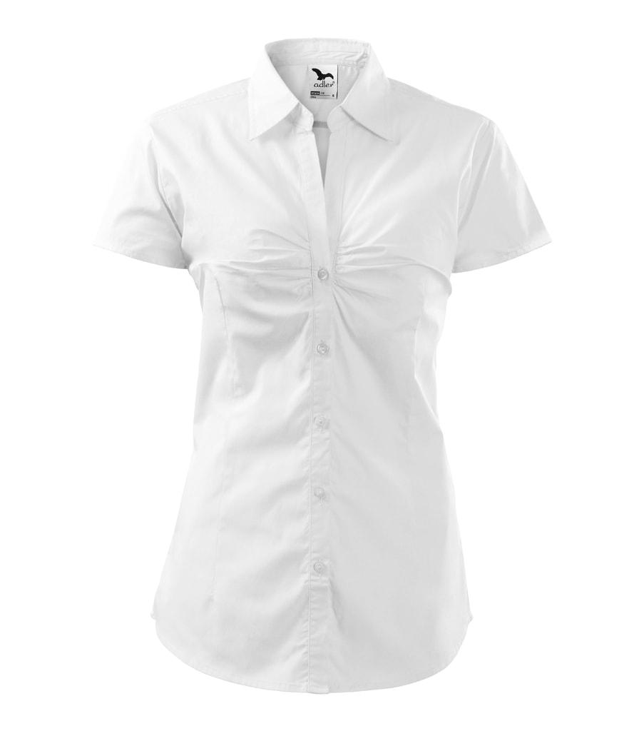 ... košile s krátkým rukávem Chic Bílá Dámská ... 47131efeb4