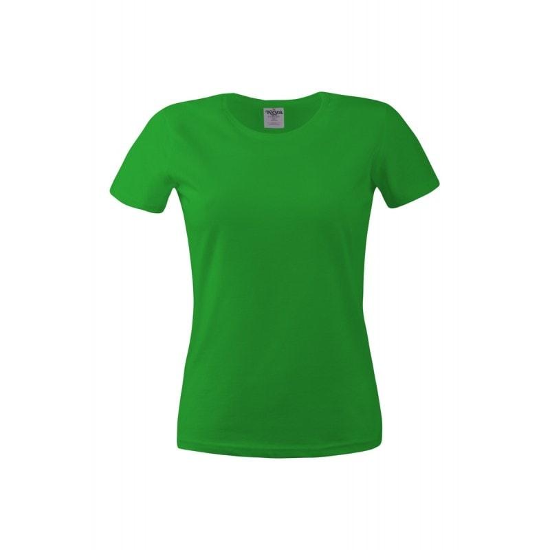 Dámské tričko ECONOMY - Trávově zelená | L