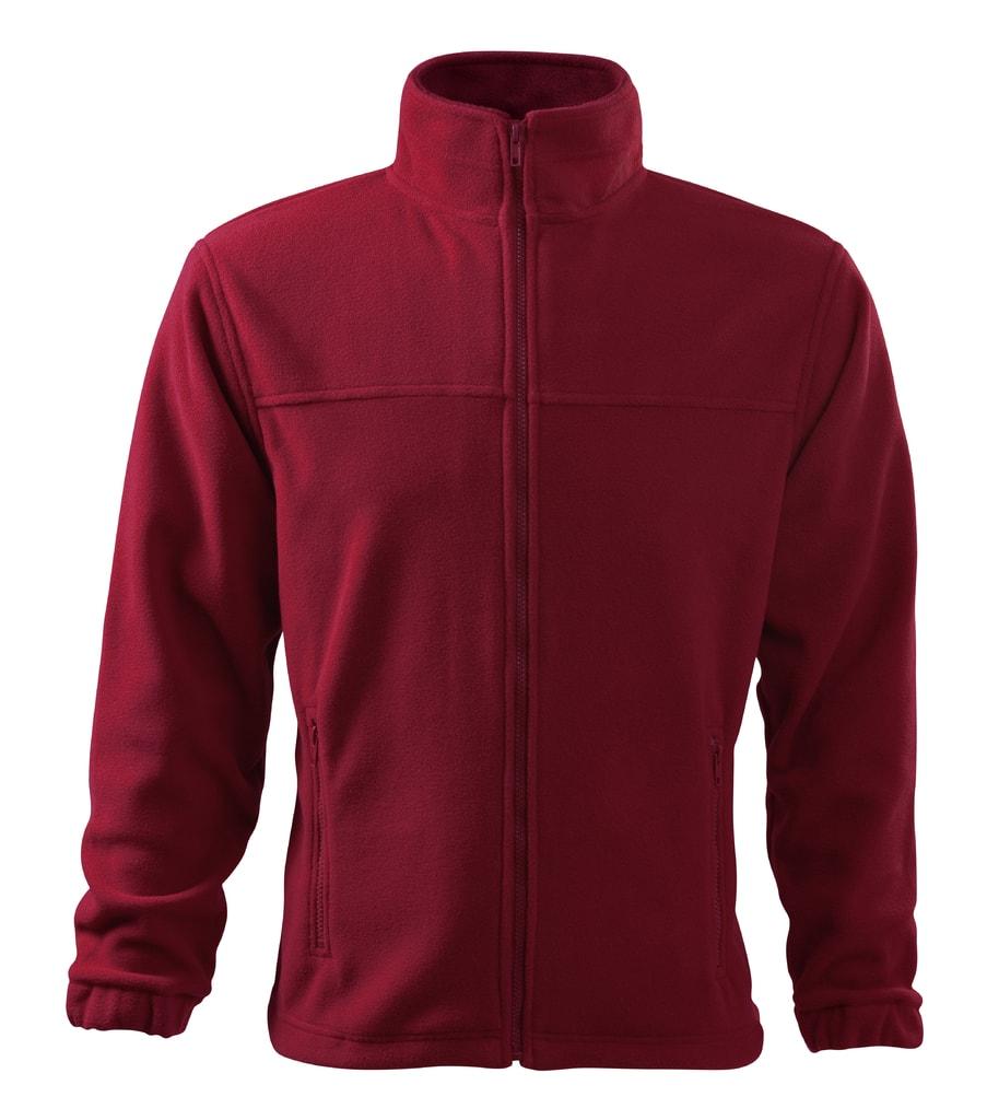 Pánská fleecová mikina Jacket - Marlboro červená | M