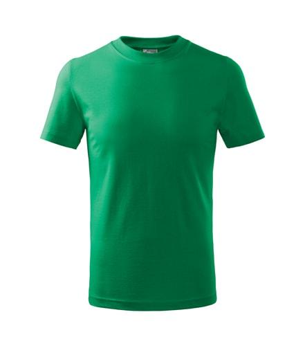 Dětské tričko Basic Adler - Středně zelená | 158 (12 let)